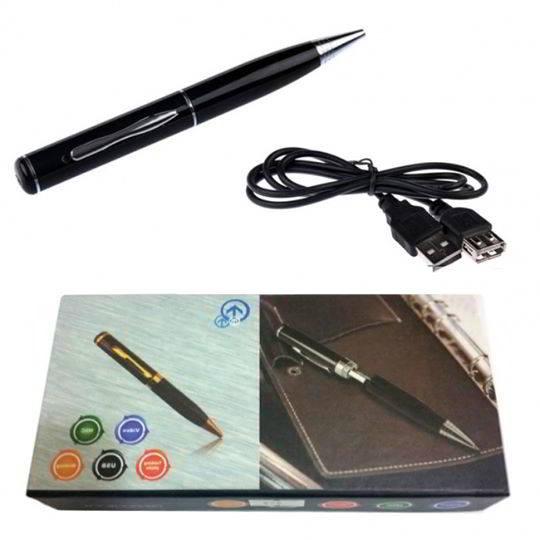 Bút camera vừa ghi hình vừa ghi âm có hình dạng không khác chiếc bút thường