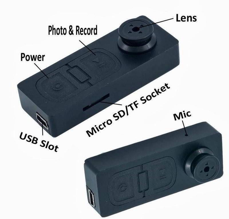 Các bộ phận của cúc áo Camera