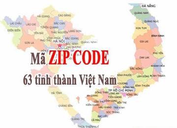 Mã bưu điện (Zip code) 63 tỉnh thành tại Việt Nam (Mới nhất)